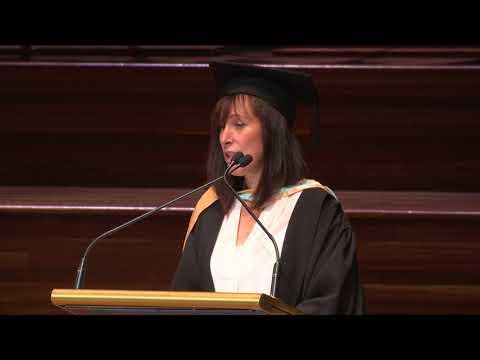 Ms Sophie Fenton - 22 May 2018 11am Graduation Address