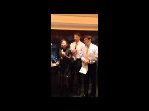 Winemaker sings karaoke in Taipei