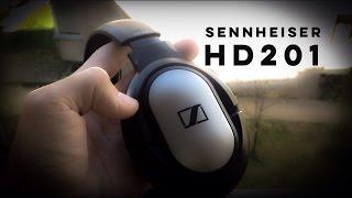 sennheiser HD 201 Обзор наушников на русском
