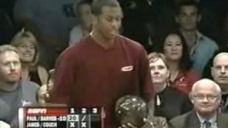 2008 Chris Paul PBA Celebrity Invitational - Lebron James/Jason Couch vs. Chris Paul/Chris Barnes (Part 1)