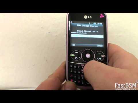 Unlock LG GW300 & Etna 2
