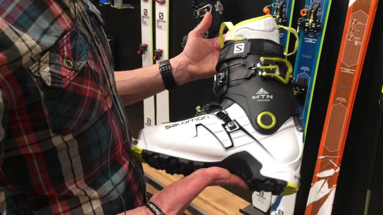 les dernières nouveautés chaussures de tempérament code de promo [ISPO 2015] La chaussure de Ski de rando MTN de Salomon !