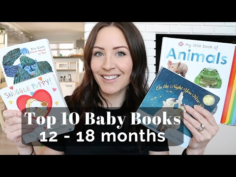 Top 10 Baby Books for 12-18 Months | BABY BOARD BOOKS ��