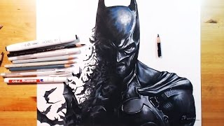 Drawing Batman(Akham Origin) 배트맨  아캄 오리진 | drawholic