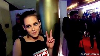 Cute and funny moments with Kristen Stewart! (PART 49)