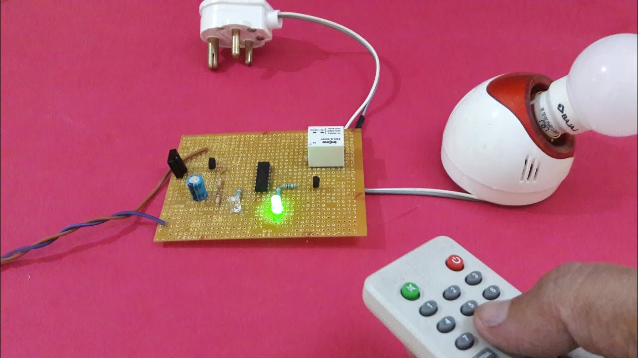 Remote Control On Off Switch Youtube Circuit Schematic Diagram