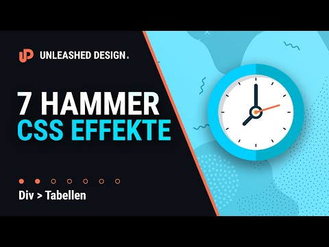 😳 7 CSS Animationen In Je ⏱ Einer Minute! 👍 [TUTORIAL]