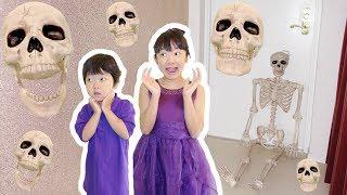 ★連続ドッキリ大作戦!「150cmリアル骸骨~!」★Continuous skeleton prank★ thumbnail
