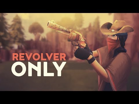 REVOLVER ONLY (Fortnite Battle Royale)