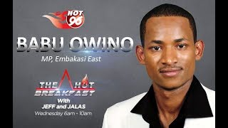 Babu Owino shares his experience while in Jail