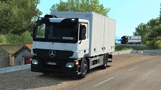 ETS2 1 36 Open Beta Mercedes Actros MPIII Corsican Sightseeing Tour