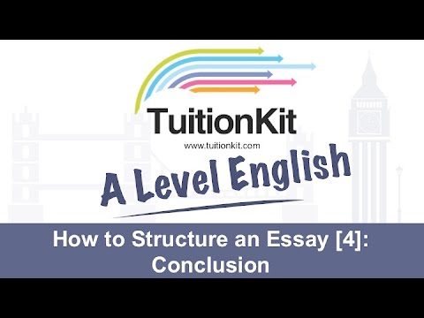 how to structure an essay  conclusion english literature  youtube how to structure an essay  conclusion english literature