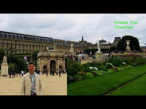 The Louvre Palace and TheTuileries Garden - Paris City, France