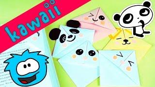 6 DIY Kawaii закладки для книг | Оригами из бумаги | ПРОСТЫЕ КАВАЙНЫЕ ЗАКЛАДКИ своими руками