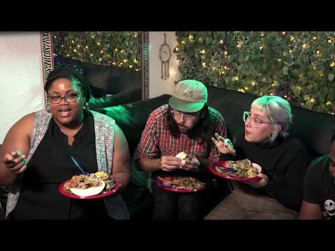A Happy Thanksgiving Day Friendsgiving Mukbang Potluck From Our Fam to Urs| Pink Theory Podcast