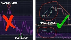 How to properly use the RSI Indicator to trade. Divergence Explained. RSI, MACD, Stochastic