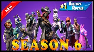FORTNITE SEASON 6 IS FINALLY OUT!!! - NEW UPDATE (Skins, Cities, Pets and MORE!)