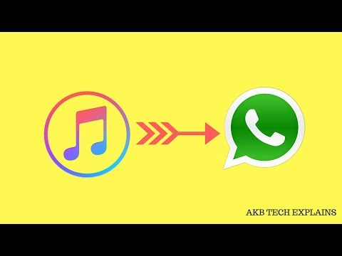 Transfer Music Files Via Whatsapp In Iphone