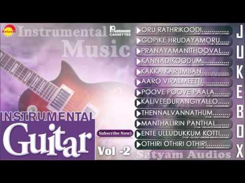 Instrumental Guitar Vol - 2 | Evergreen Malayalam Film Songs
