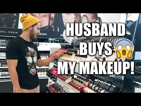 MY HUSBAND BUYS MY MAKEUP FOR ME | SEPHORA
