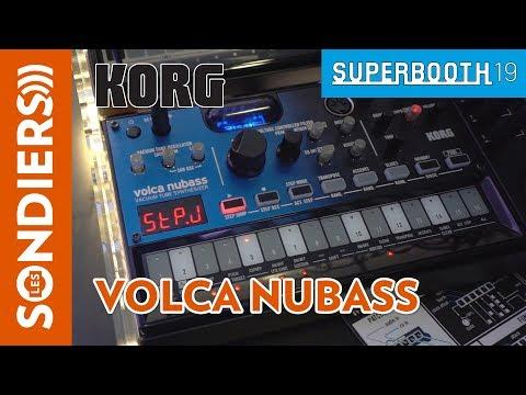 [SUPERBOOTH 2019] KORG VOLCA NUBASS