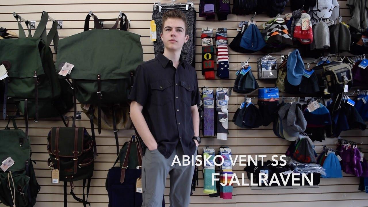 Rabatt bis zu 60% Beamten wählen neuer Lebensstil Fjallraven Abisko Vent SS Shirt Review