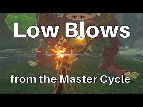 Zelda: Low Blows From The Master Cycle