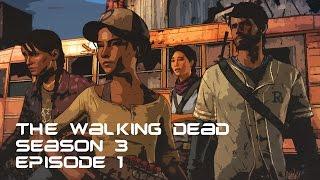Игра Walking Dead: A New Frontier (Ходячие мертвецы) 3 сезон, эпизод 1. Прохождение, приколы, шутки