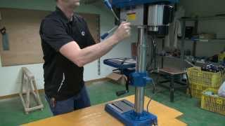 13 Benchtop Drill Press Assembly Steel City 20130VS
