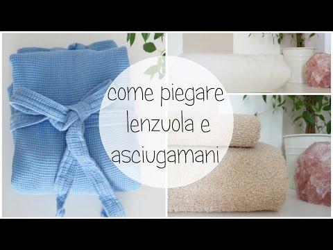 Piegare Lenzuola Matrimoniali.Come Piego Lenzuola E Asciugamani Youtube