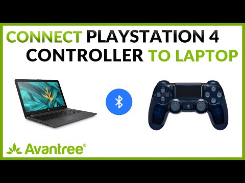 Connect Sony PS4 Controller to your Laptop/Computer - Avantree DG40S USB Bluetooth Dongle