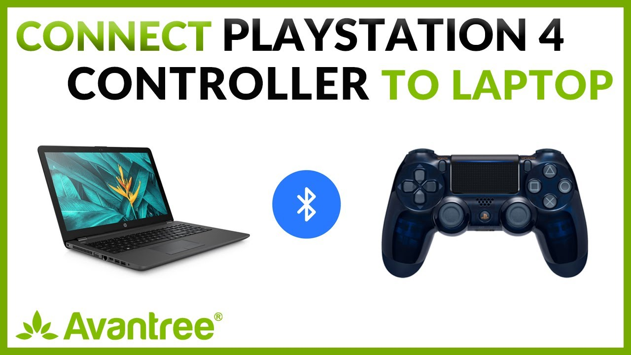 How to connect Sony PS4 controller with PC via Avantree Bluetooth USB  Dongle Adapter