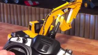 Escavadeira Hidráulica Trator Controle Remoto Rc - Cat Caterpillar 320