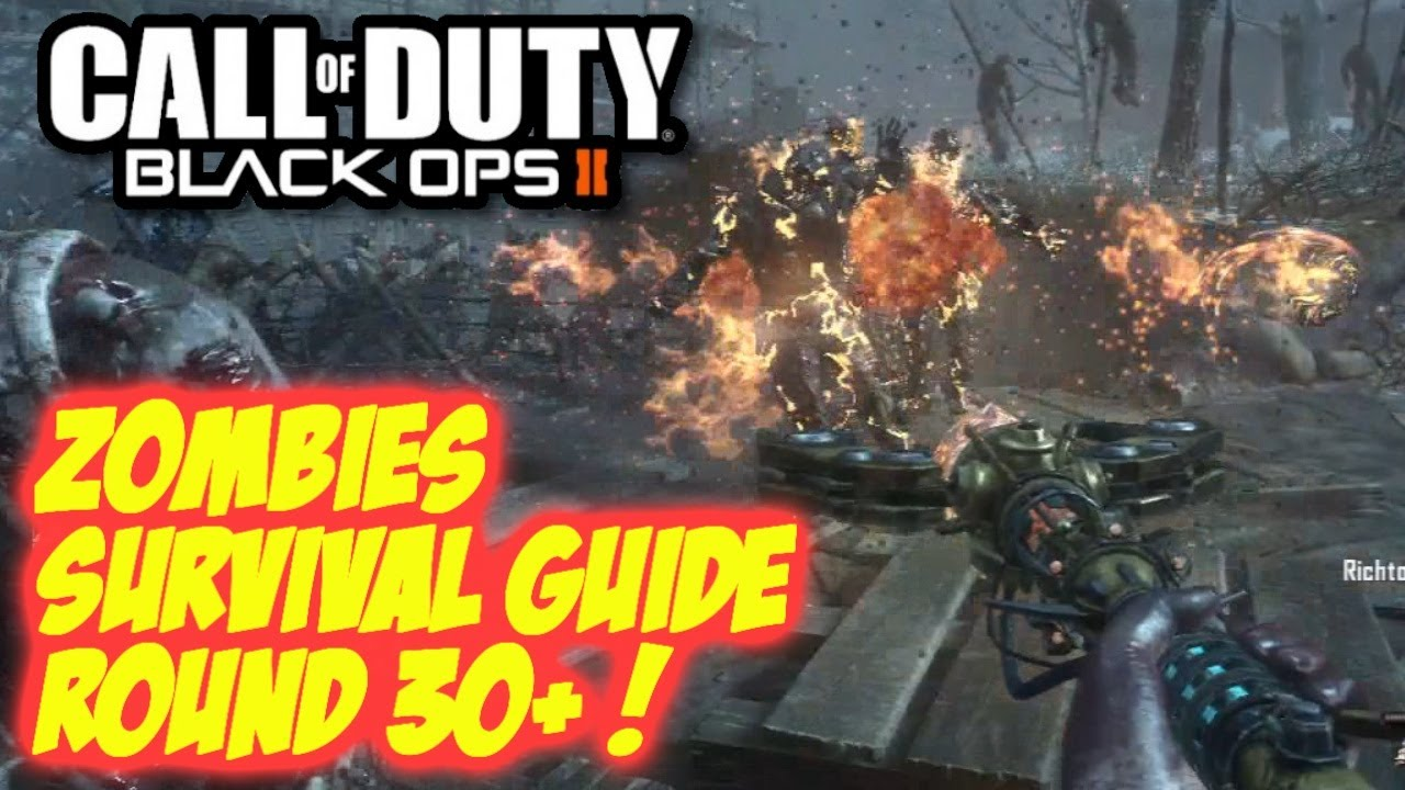 Black ops 2 zombies origins round 30 survival - Black ops 2 origins walkthrough ...