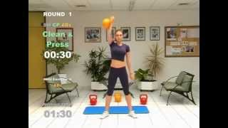 KETTLEBELL 20-Minute-CARDIO WORKOUT - FAT LOSS