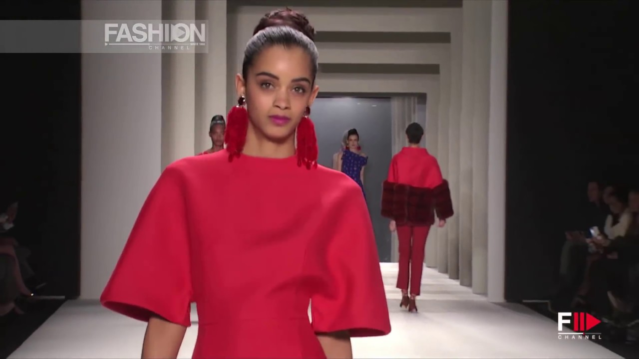 CAROLINA HERRERA Full Show HD New York Fashion Week Fall Winter 2014 2015 by Fashion Channel