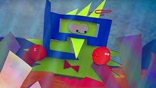 Бумажки - 1000 и одна икринка - мультфильм для детей - поделки своими руками✂📏