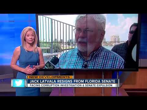 Jack Latvala resigns from FL Senate after investigation finds credible evidence of sexual misconduct