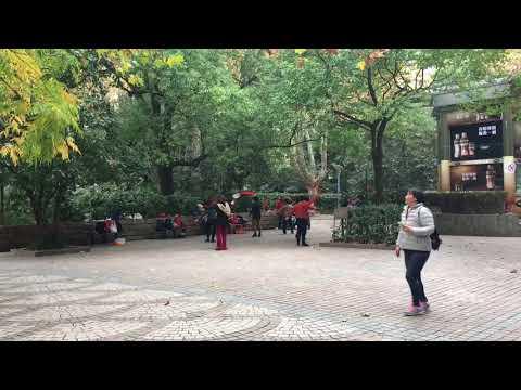 Dancing in People's Park Shanghai, China