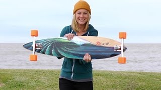 Longboard BoardGuide Reviews: Pintails by Original Skateboards with Lindsay thumbnail