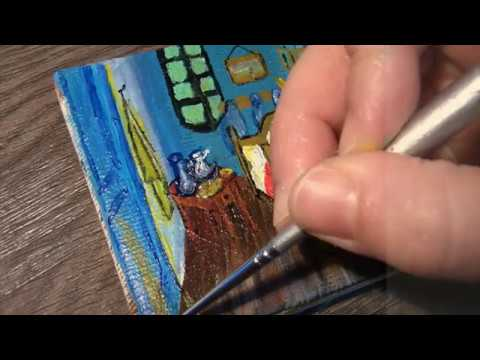 Van Gogh's Bedroom: Mini Painting With Description And Information