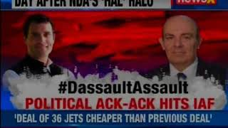Nation 9: Poll time 'Flak' starving IAF ? Dassault CEO respond to RaGa's Allegations