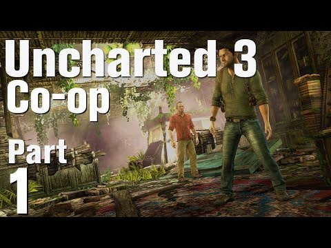 UNCHARTED: 3 Coop #001 - London Underground (HD) Lets Play Uncharted 3
