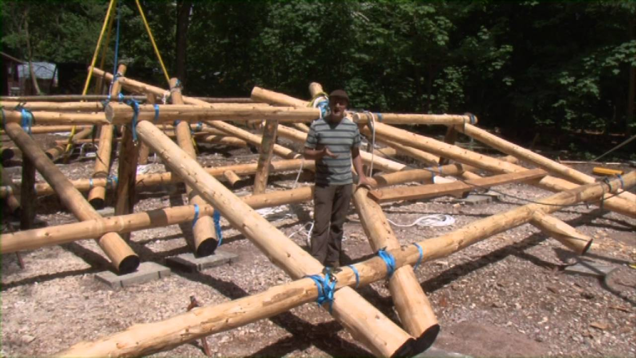 Future - How to build a timber frame house step by step - YouTube