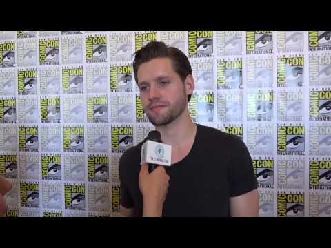 Luke Kleintank The Man in the High Castle  Comic Con 2016