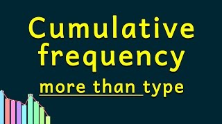 Statistics | Cumulative Frequency Distribution | More Than Type Ogive | Grade X Class 10 Maths