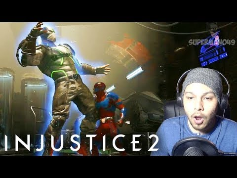 "ATOM SHRINKING POWERS LOOK INSANE! - Injustice 2 ""Atom"" Gameplay REACTION"