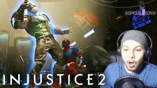 ATOM SHRINKING POWERS LOOK INSANE! - Injustice 2