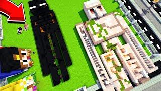 Майнкрафт но СЛОМАННЫЙ Лабиринт Голем и Эндермен в Майнкрафте Троллинг Ловушка Minecraft