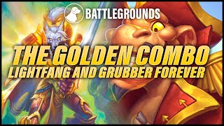 The Golden Combo, Lightfang and Grubber Forever | Dogdog Hearthstone Battlegrounds